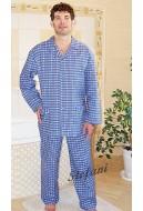 Piżama męska flanelowa