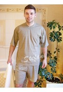Piżama męska krótki rękaw (serek)
